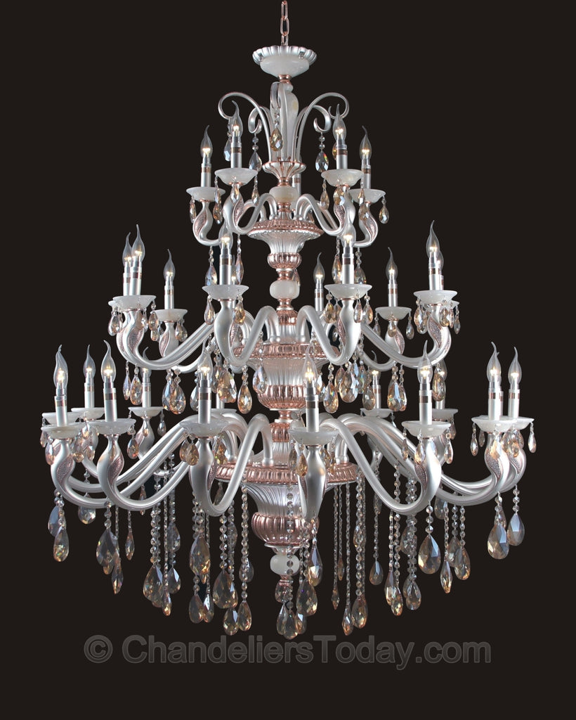 Maria theresa 13622 h 30 light chandeliers today maria theresa chandelier zoom detail arubaitofo Gallery