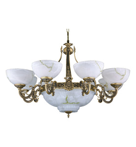 Alabaster chandelier 232 83 light chandeliers today alabaster chandelier5 aloadofball Image collections