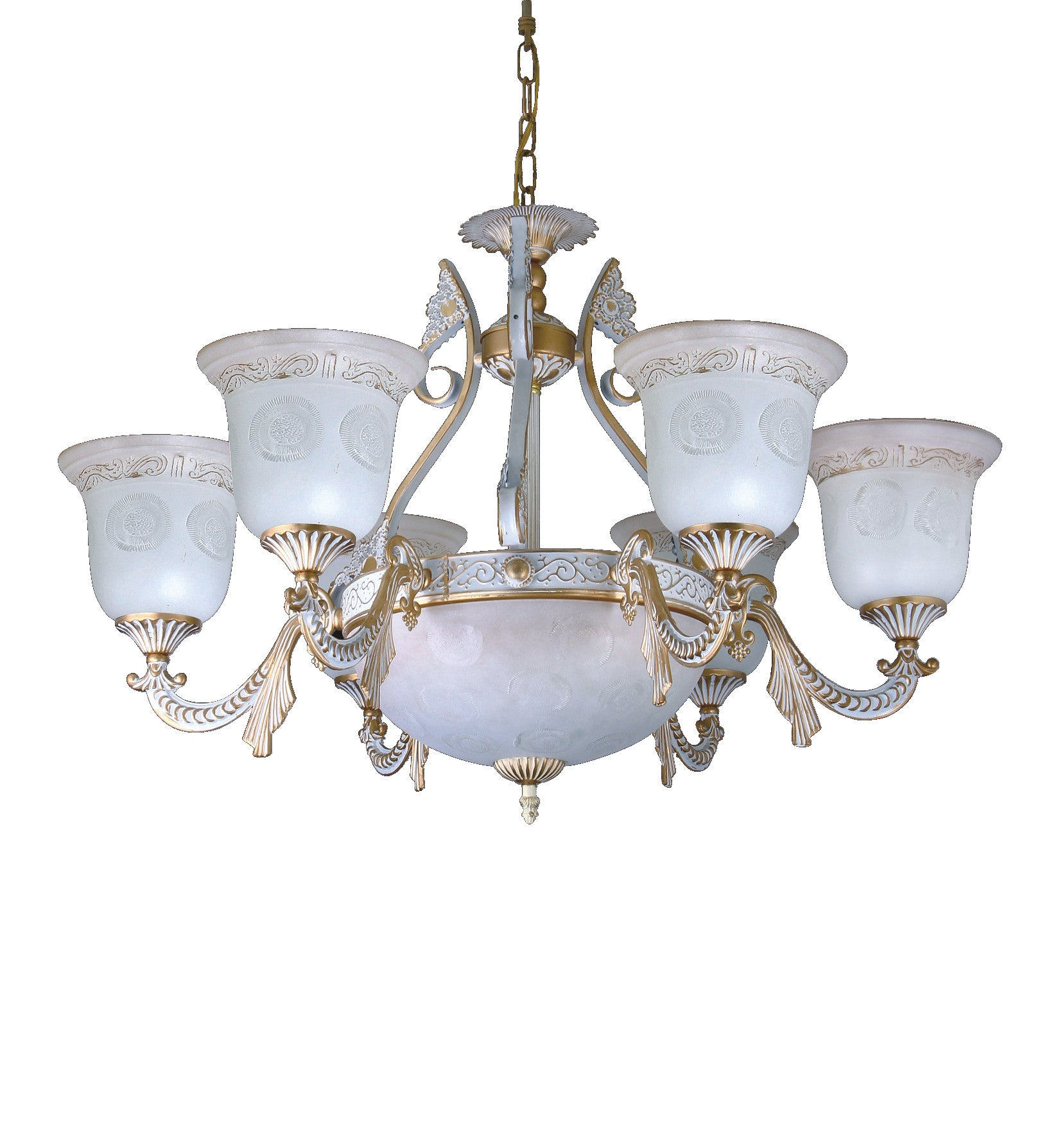 Alabaster Chandelier 245 6 3 Light – Chandeliers Today