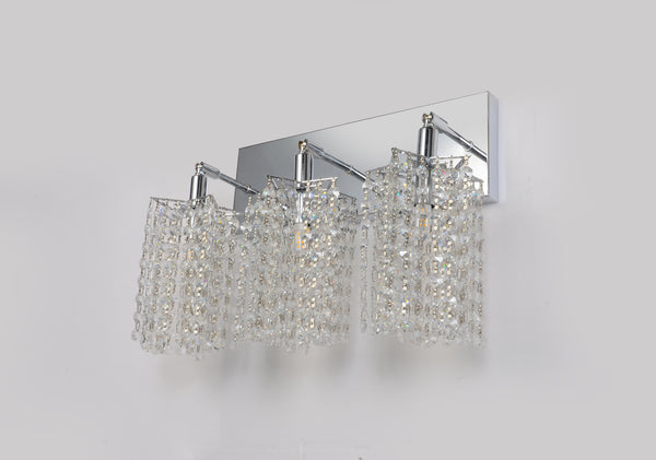 Curtain 3 Lights Wall Sconce