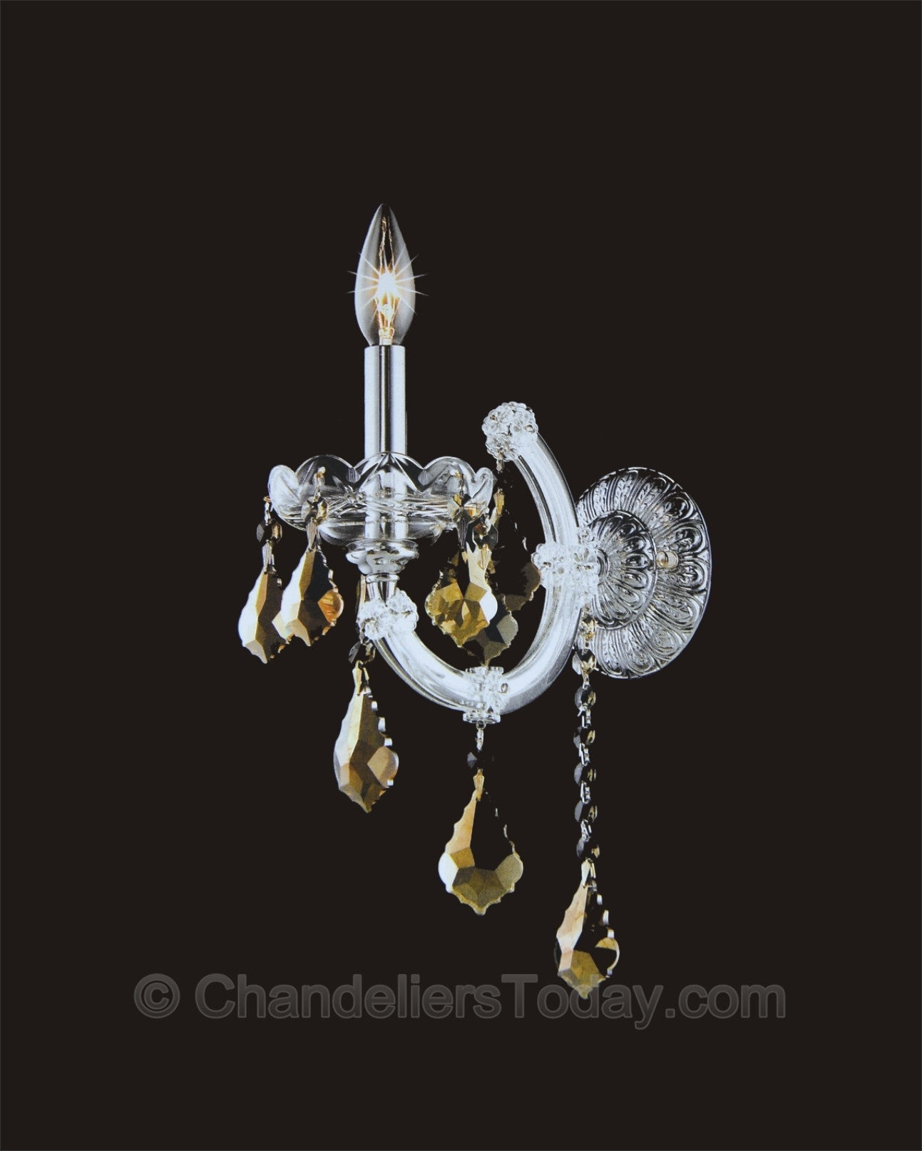 Maria Theresa Wall Sconce #4004-H 1-Light