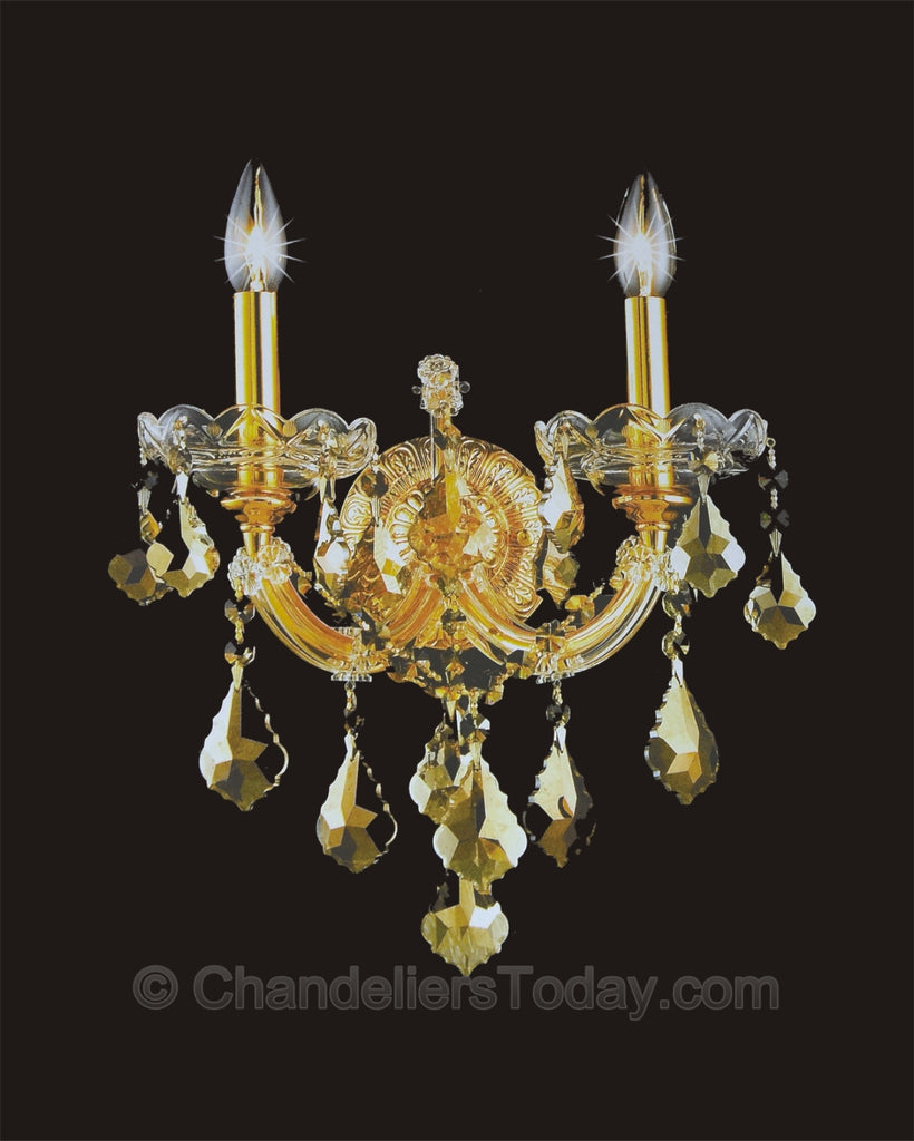 Maria Theresa Wall Sconce #4004-H 2-Light