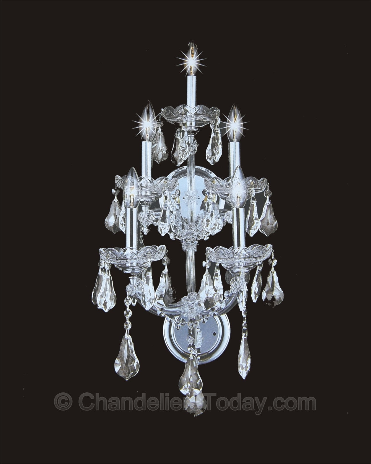 Maria Theresa Wall Sconce #4004-H 5-Light