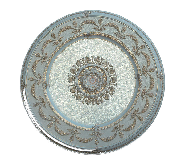 Round Ceiling Medallion Round3 Cf3 084 Chandeliers Today
