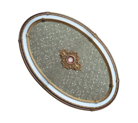 Oval Ceiling Medallion #OVAL9014-S-202