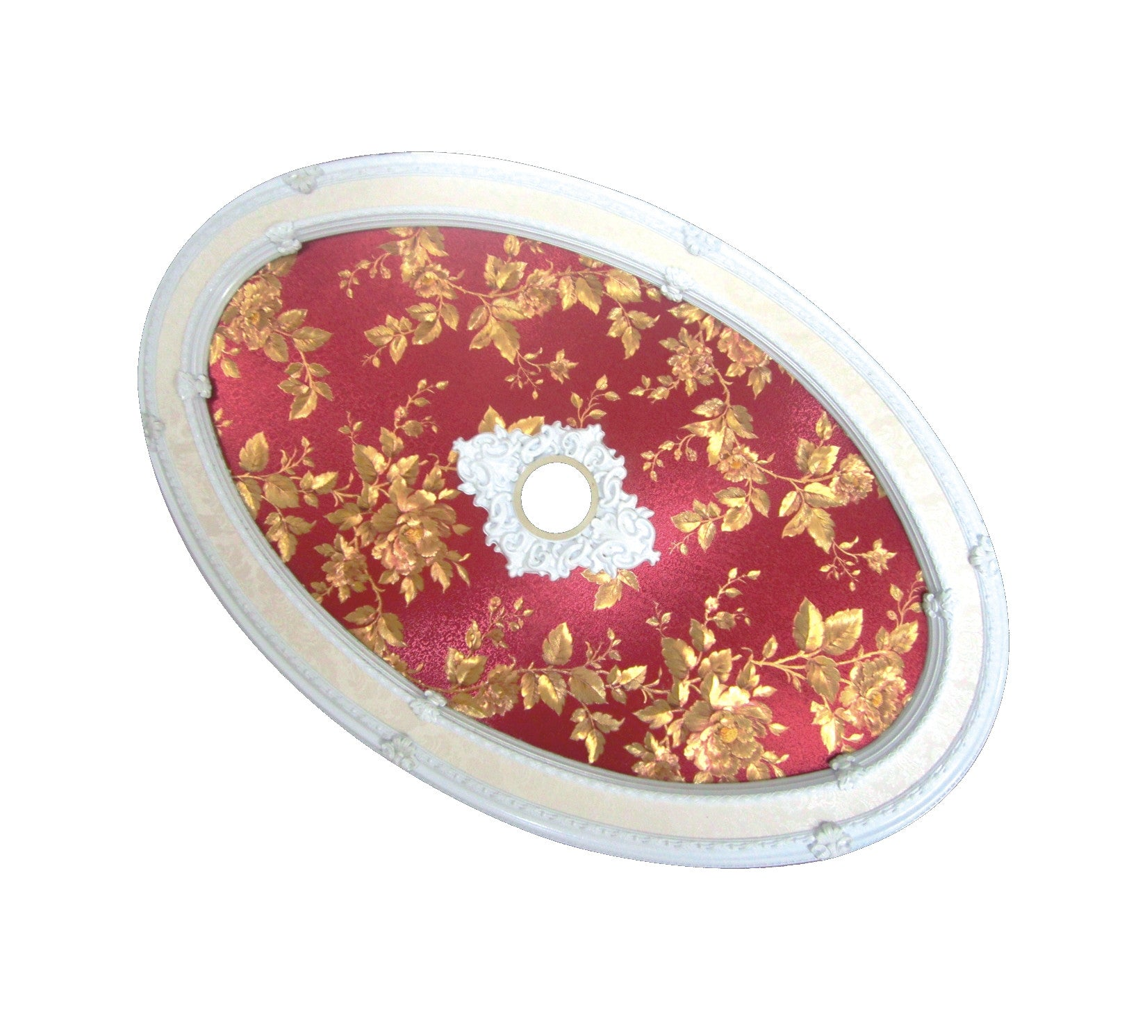 Oval Ceiling Medallion #OVAL1722-S-056