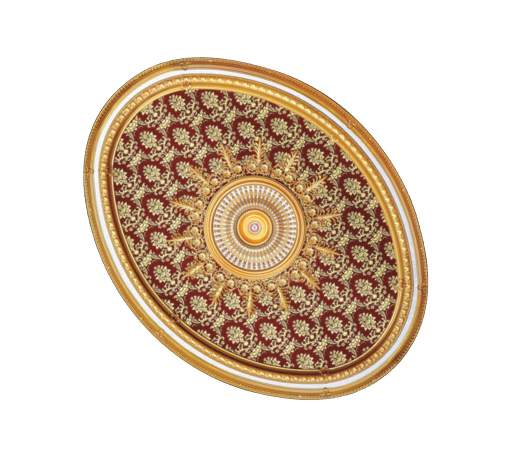 Oval Ceiling Medallion #OVAL1722-S-072