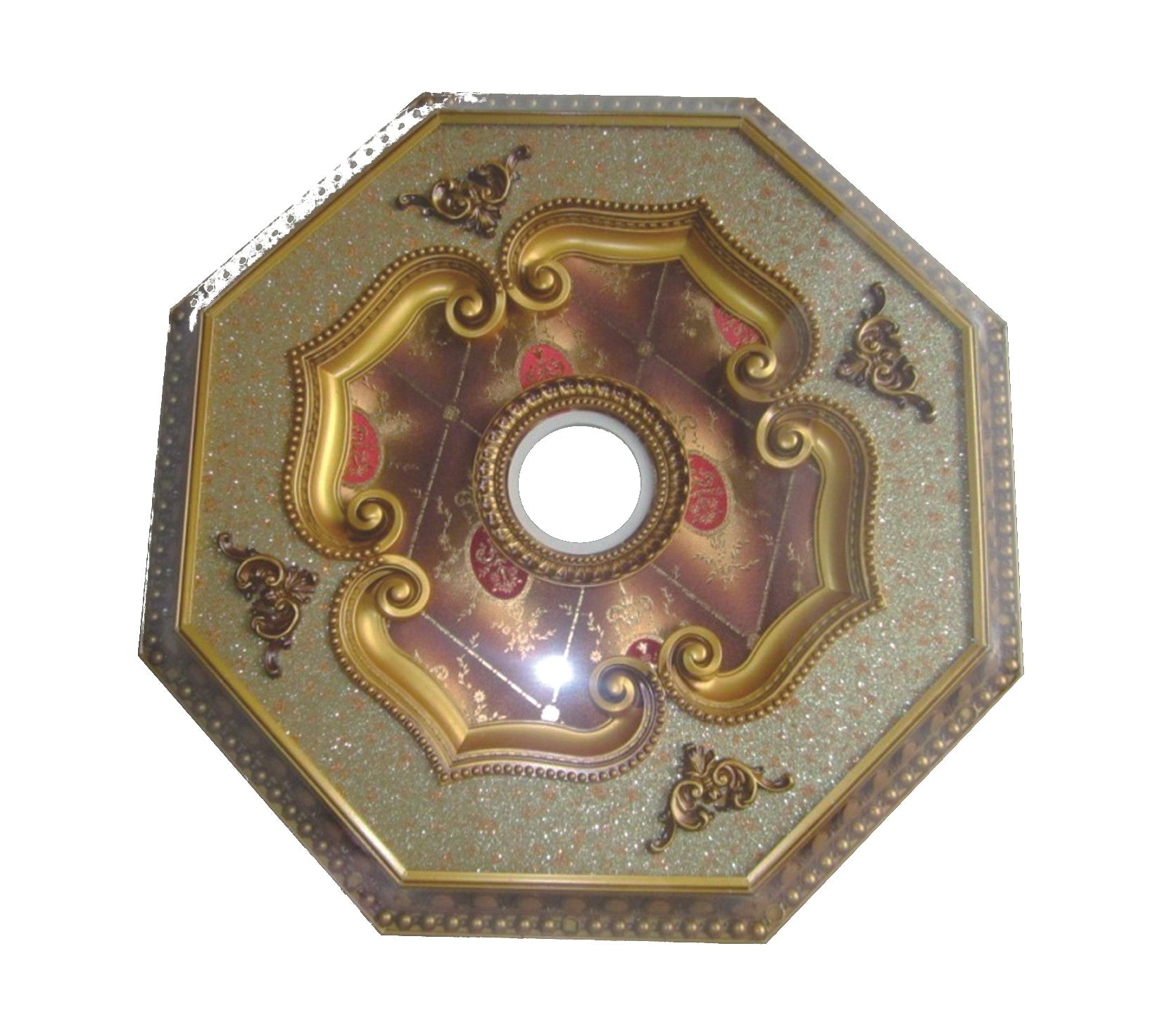 lighting s medallion brass b ceiling