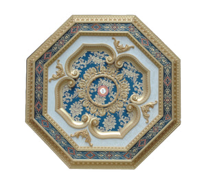 Ceiling Medallion Octagon #OCT-2S-071