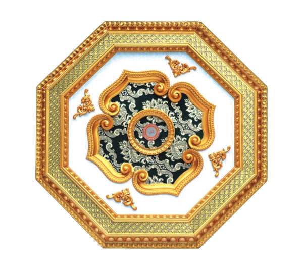 Ceiling Medallion Octagon #OCT-2S-079