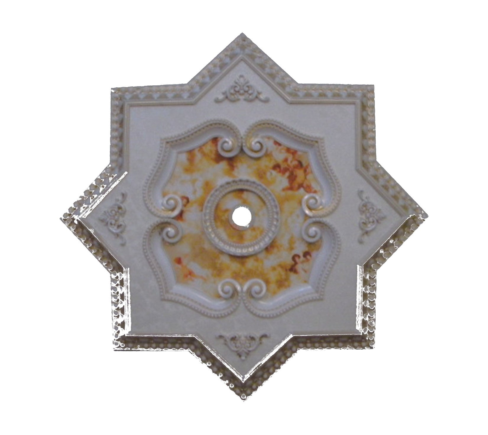 Star Ceiling Medallion #STAR-F3-023