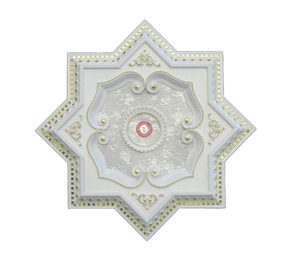Star Ceiling Medallion #STAR-W-078