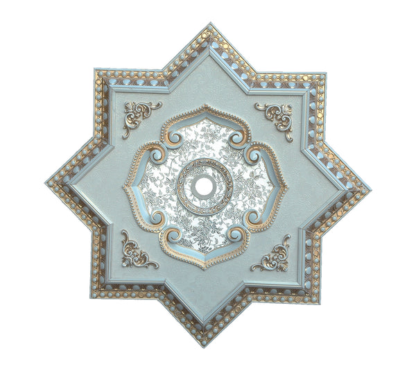 Star Ceiling Medallion #STAR-F3-082