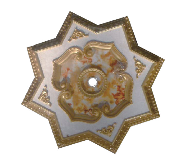 Star Ceiling Medallion #STAR-S-023