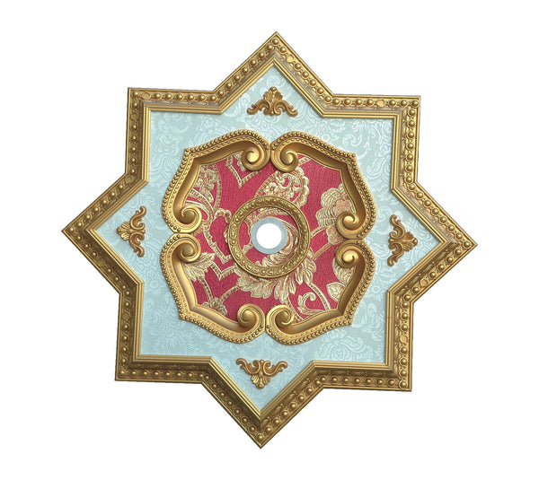 Star Ceiling Medallion Star S 226 Chandeliers Today