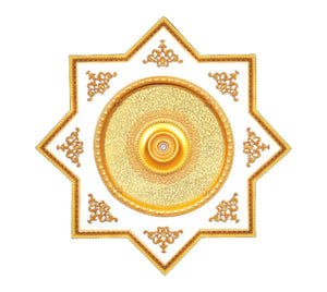 Star Ceiling Medallion #STAR-S-077