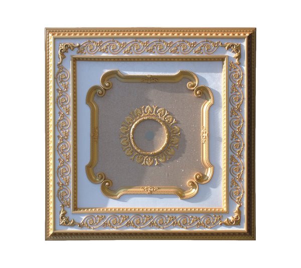 Square Ceiling Medallion #SQUARE2-S-101
