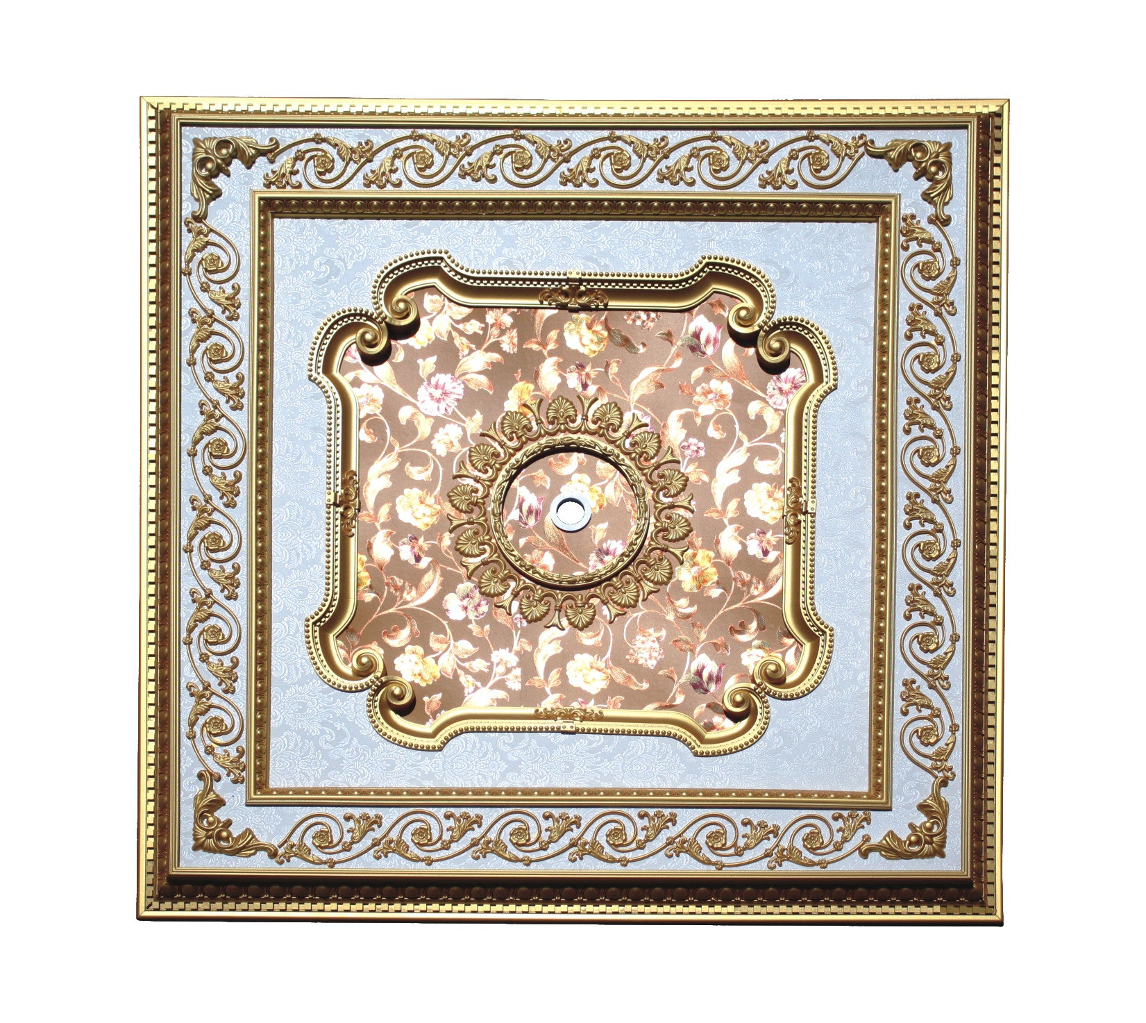 Square Ceiling Medallion #SQUARE2-S-067