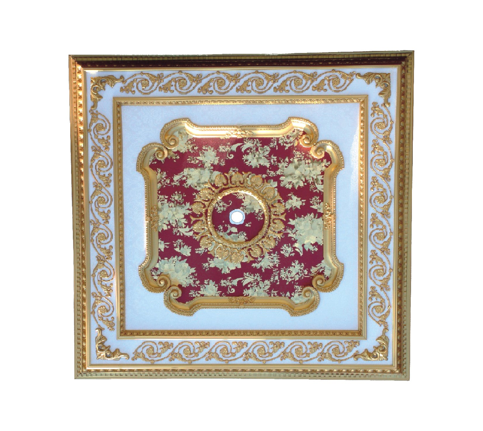 Square Ceiling Medallion Square2 S 093 Chandeliers Today