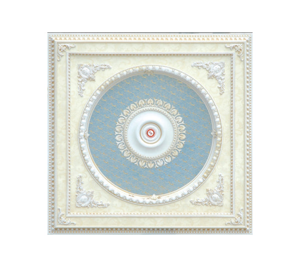 Square Ceiling Medallion #SQUARE-W-203