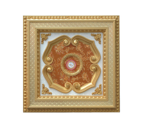 Square Ceiling Medallion #SQUARE-2S-217