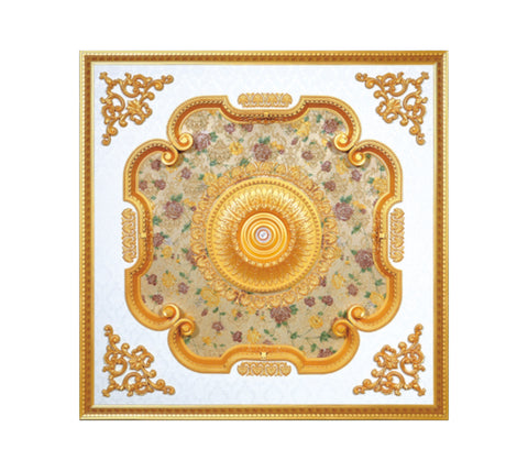 Square Ceiling Medallion #SQUARE-S-062