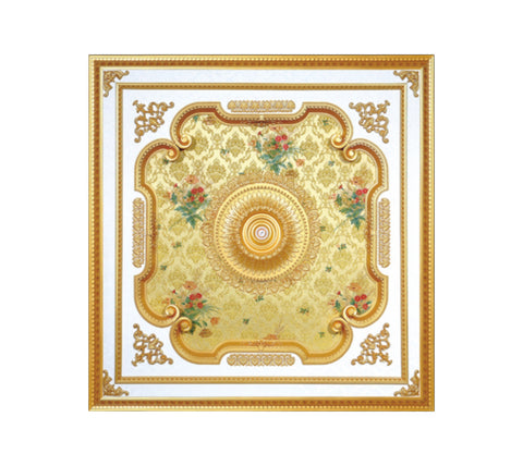 Square Ceiling Medallion #SQUARE-S-059