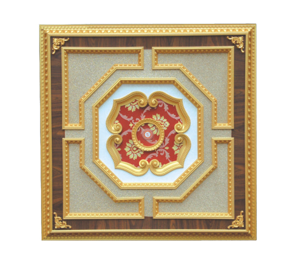 Square Ceiling Medallion #SQUARE-2S-030