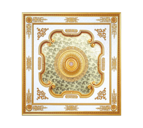 Square Ceiling Medallion #SQUARE-S-086