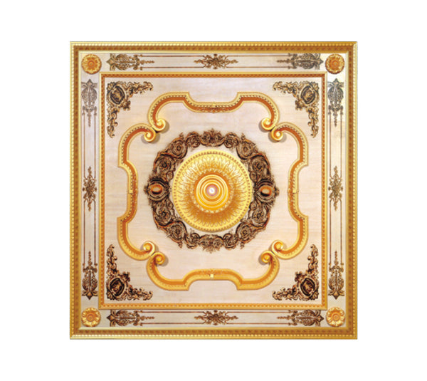 Square Ceiling Medallion #SQUARE-B-020