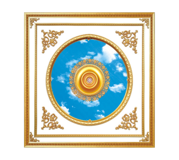 Square Ceiling Medallion #SQUARE-S-022