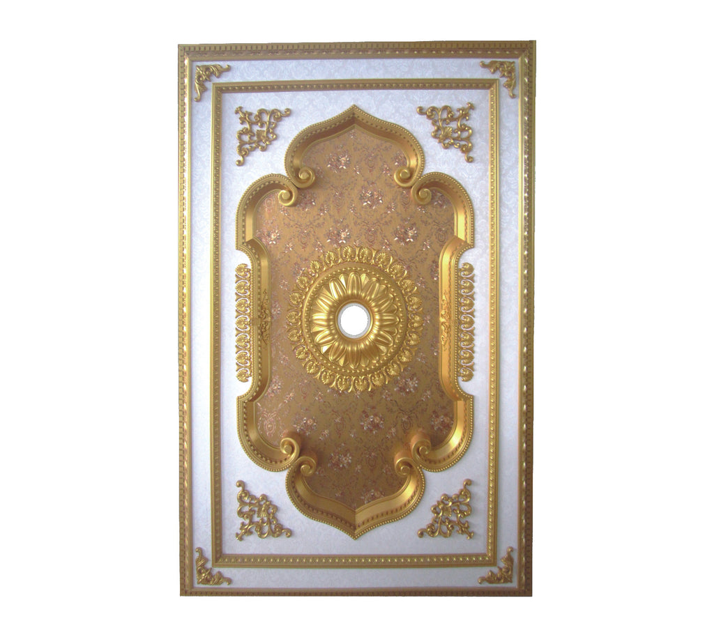 Rectangle Ceiling Medallion Rectangle S 034 Chandeliers