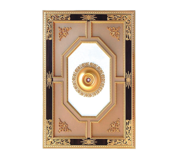 Rectangle Ceiling Medallion #RECTANGLE-3-S-107