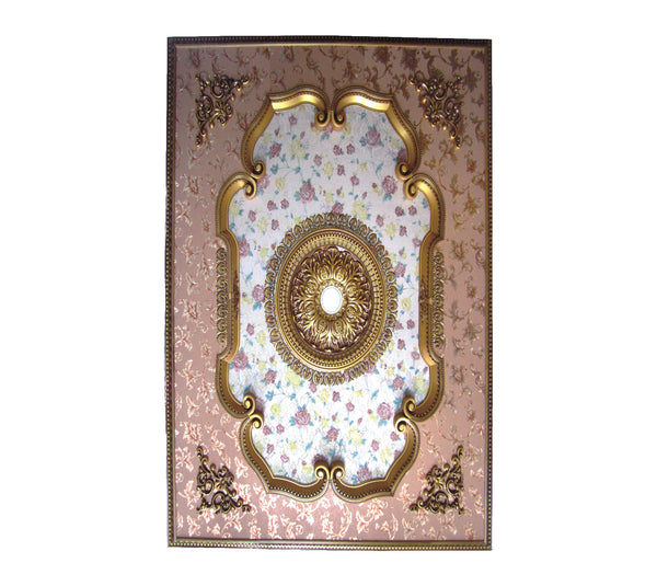 Rectangle Ceiling Medallion #RECTANGLE-F2-231+062