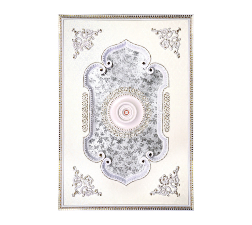 Rectangle Ceiling Medallion Rectangle W 078 Chandeliers