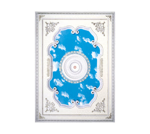 Rectangle Ceiling Medallion #RECTANGLE-W-022
