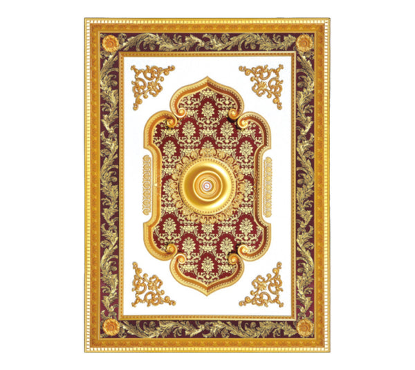 Rectangle Ceiling Medallion #RECTANGLE-2S-072