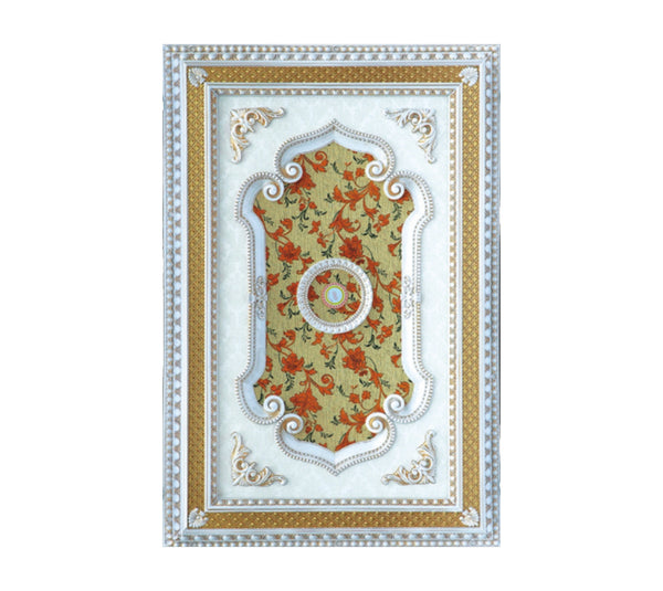 Rectangle Ceiling Medallion #RECTANGLE-2S-061