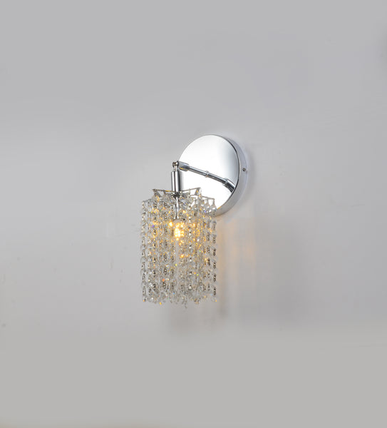 Curtain 1 Light Round Wall sconce