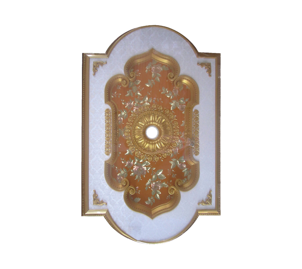 "Ceiling Medallion #DOME-S-044 W74"" x L90"""