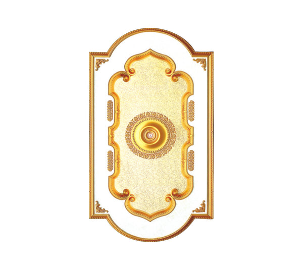 "Ceiling Medallion #DOME-S-074 W52"" x ""L76"""