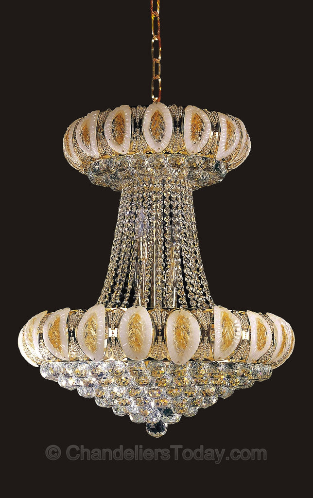 Murano 6685 hc 24 x 28 chandeliers today murano chandelier zoom detail aloadofball Choice Image