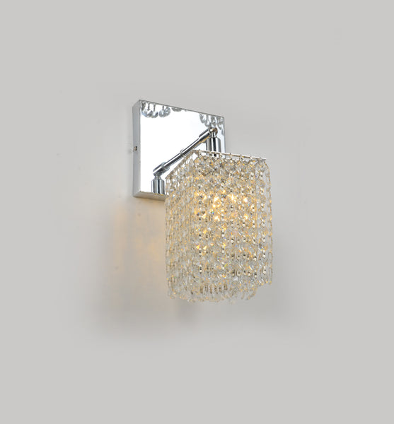 Curtain 1 Light Square Wall Sconce