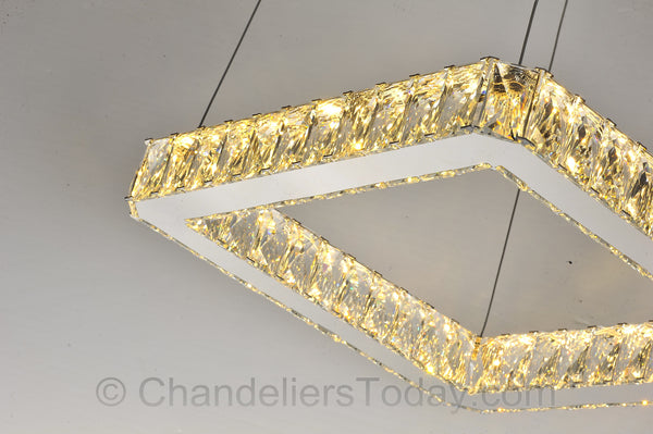 lighted samsung led chandelier
