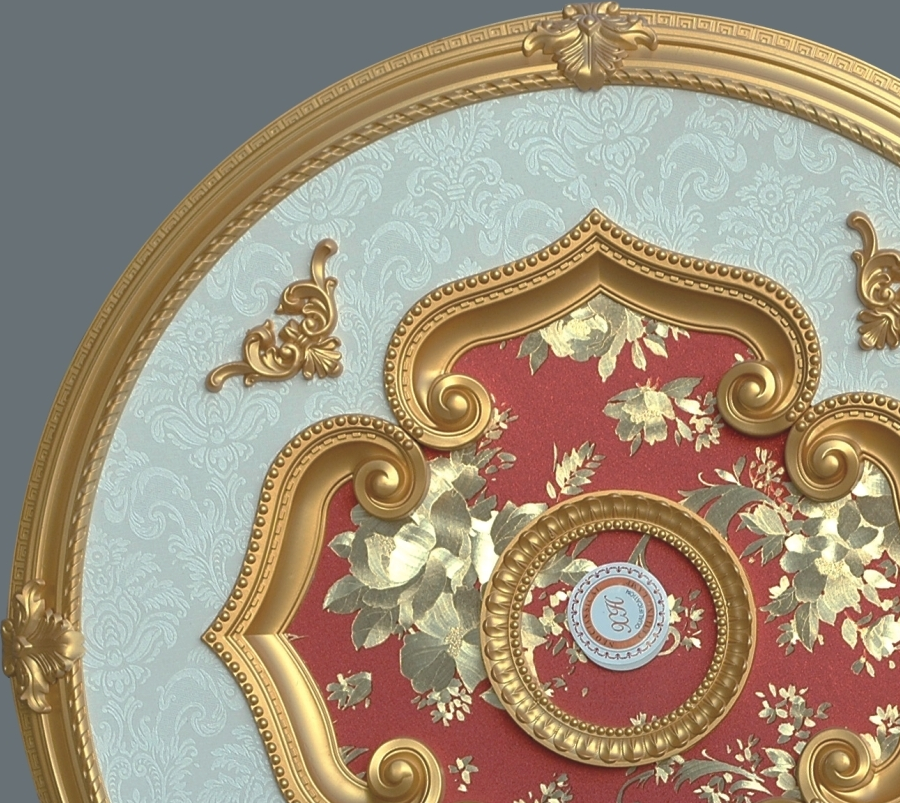 Ceiling Medallion Round S 093 Chandeliers Today