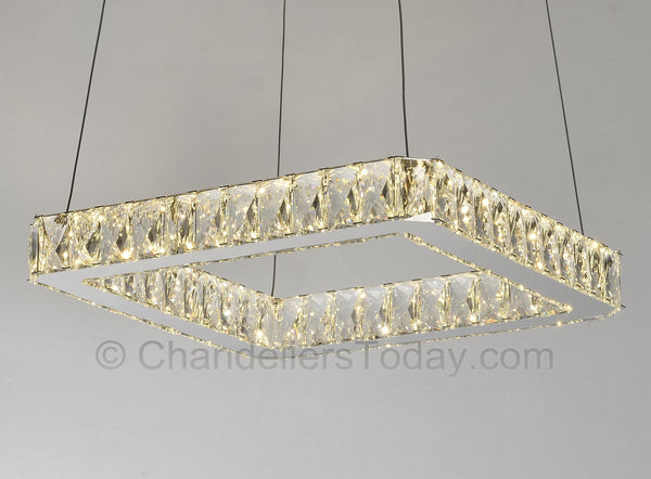 samsung led chandelier lit
