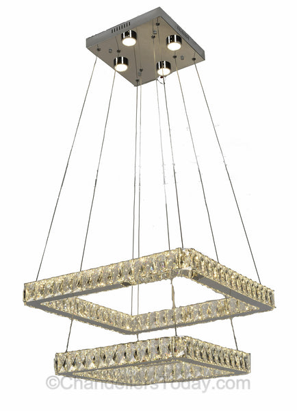 columbia led chandelier