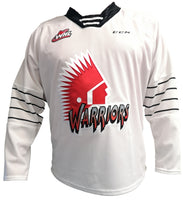 CCM REPLICA JERSEY SR. (WHITE) XL