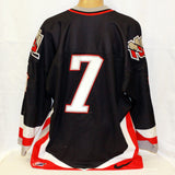 2001-02 Nike Game Worn Jersey #7 (Black)