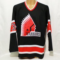 1993-96 CCM Game Worn Jersey #3 (Black)